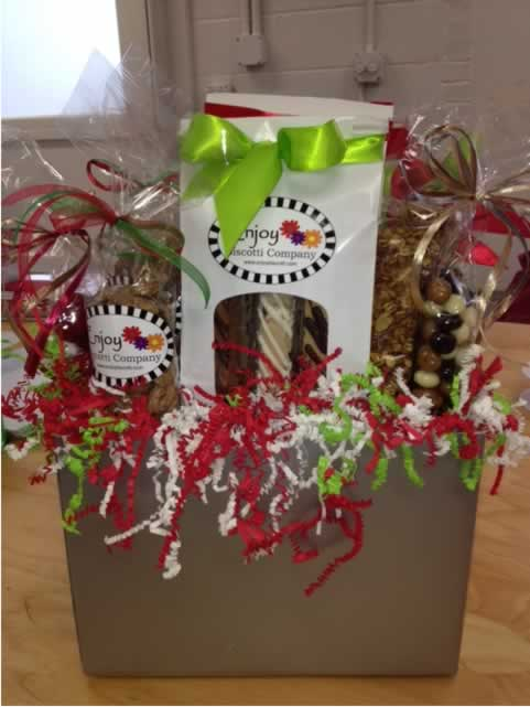 Corporate Gift Ideas - Biscotti Gift Baskets - Baked Goods
