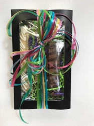 Enjoy Biscotti Gift Box - 6 large Individually Wrapped Gourmet Biscotti