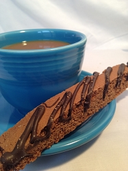 Triple Chocolate Biscotti - It's All Chocolate, Baby!  6 pk