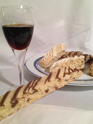 Frangelico Chocolate Toffee Chunk Biscotti  -  6pk