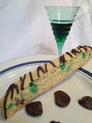 The Grasshopper Biscotti - Mint & Dark Chocolate  - 6 pk