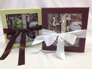 Enjoy Biscotti Colorado Gift Box - Assorted Biscotti, Cookies & Nuts